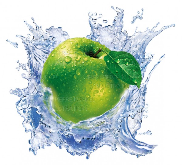 Apfel Splash