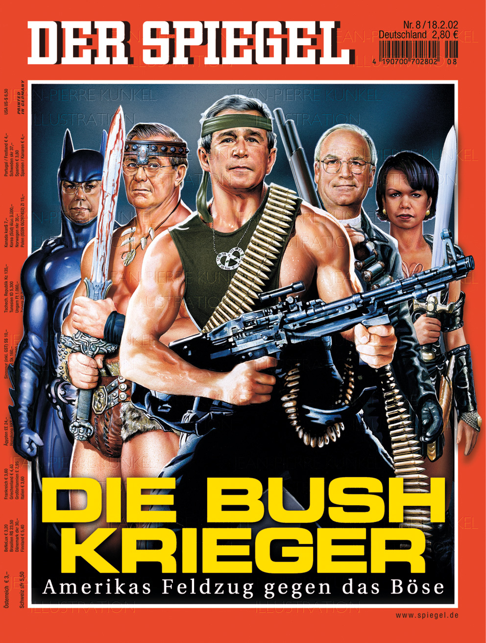 """Die Bush Krieger – Amerikas Feldzug gegen das Böse"""