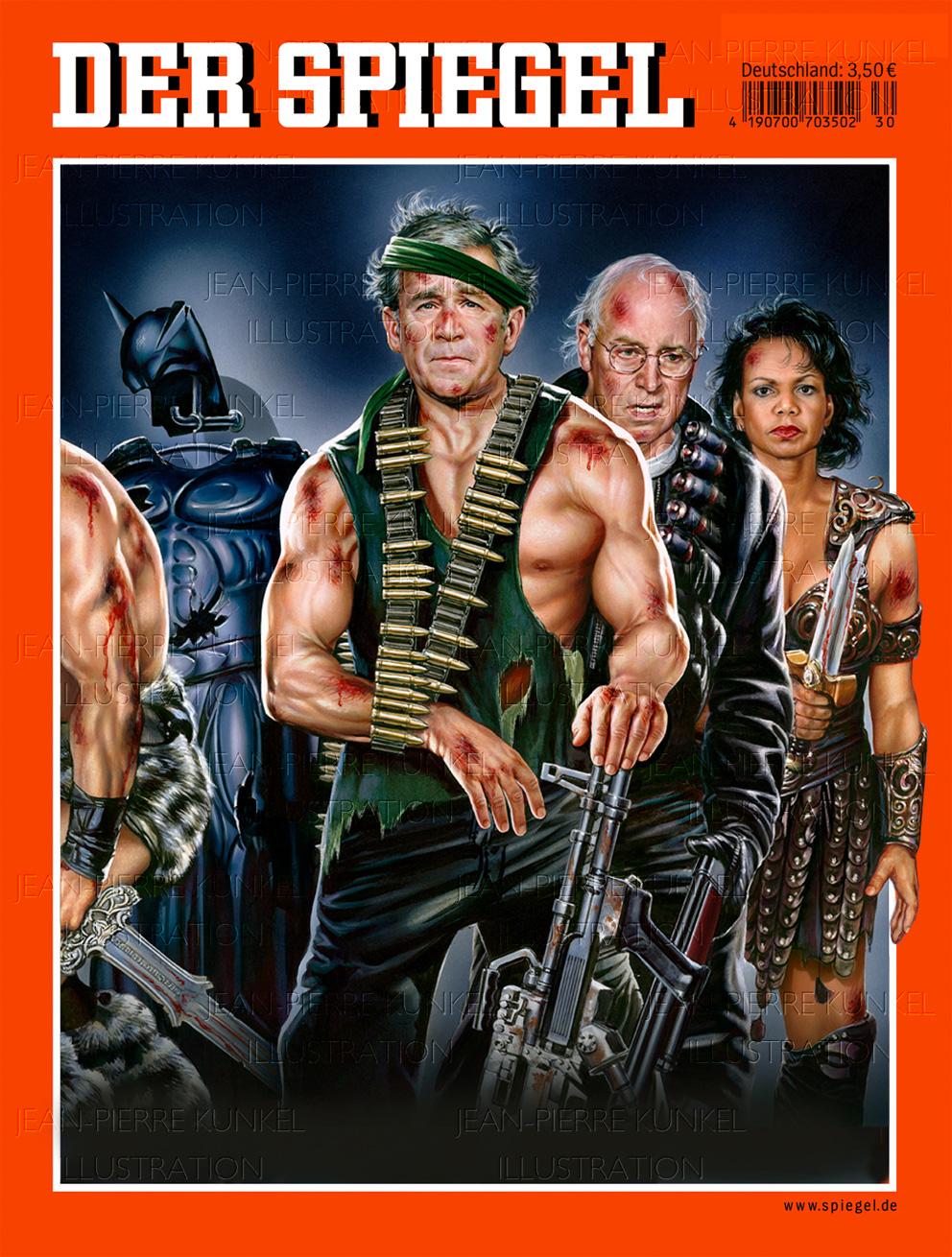 """""""Die Bush Krieger – Ende der Vorstellung"""""""