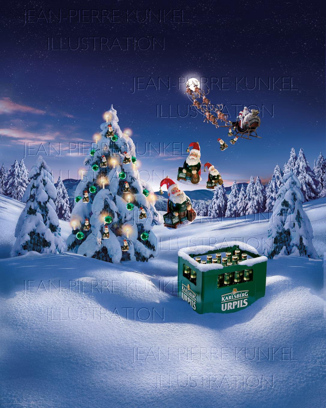 Weihnachtslandschaft