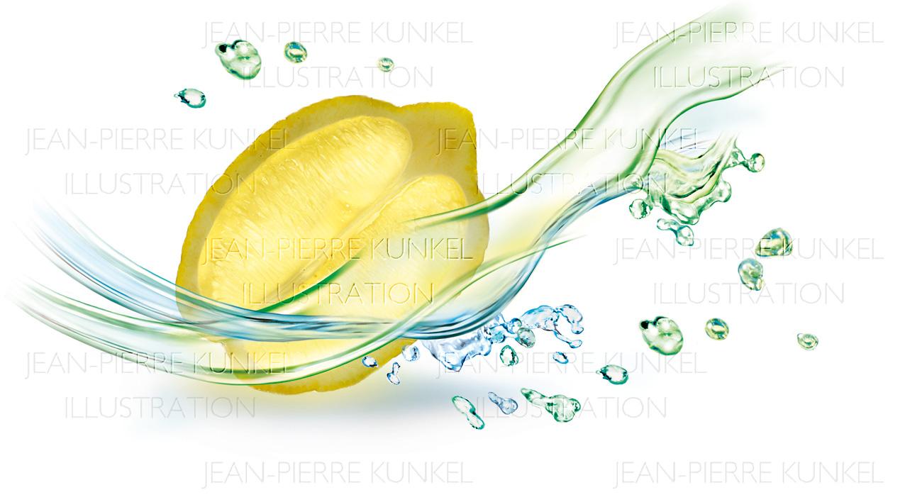 Zitronen-Frische