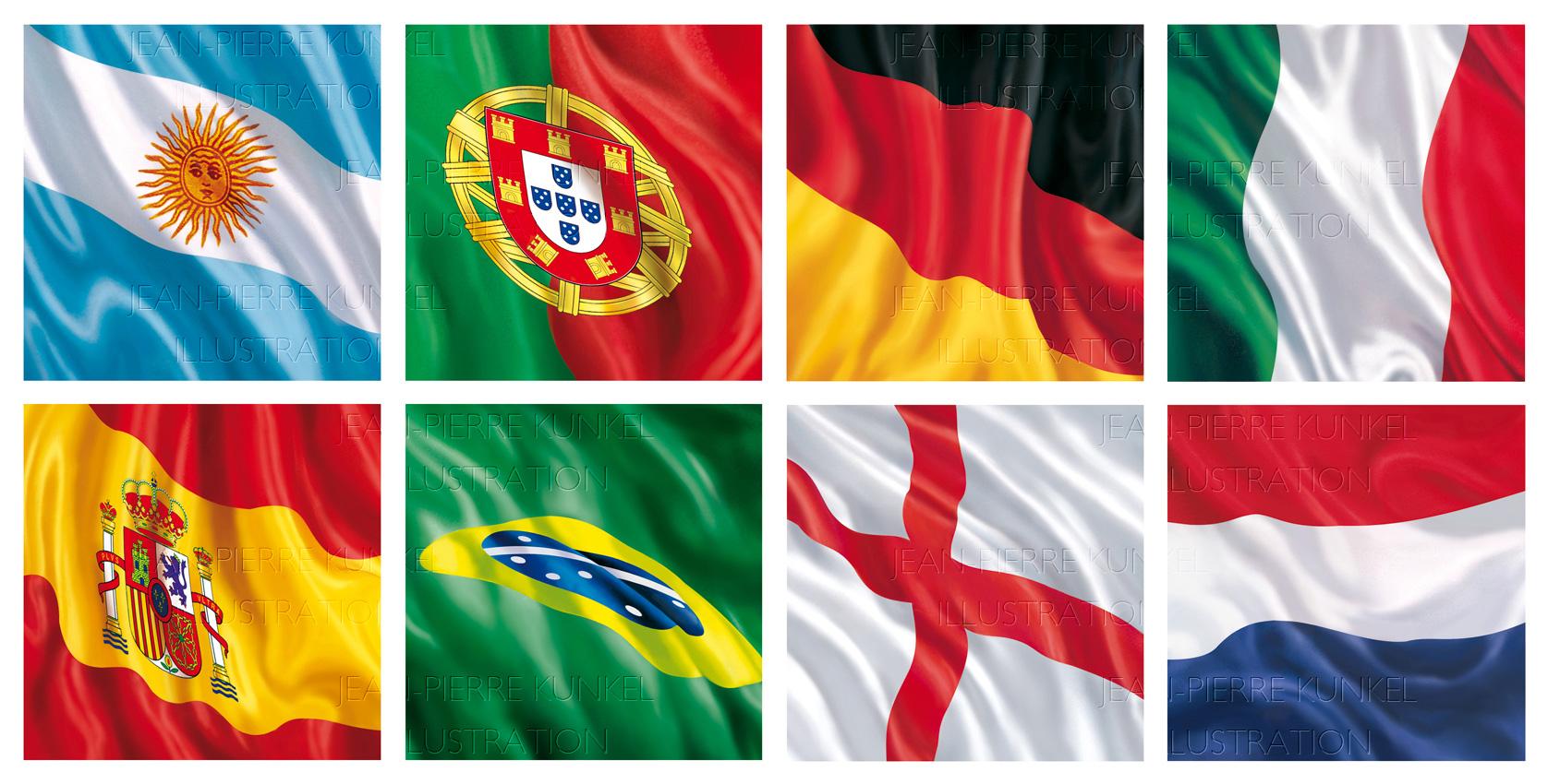 Länderflaggen