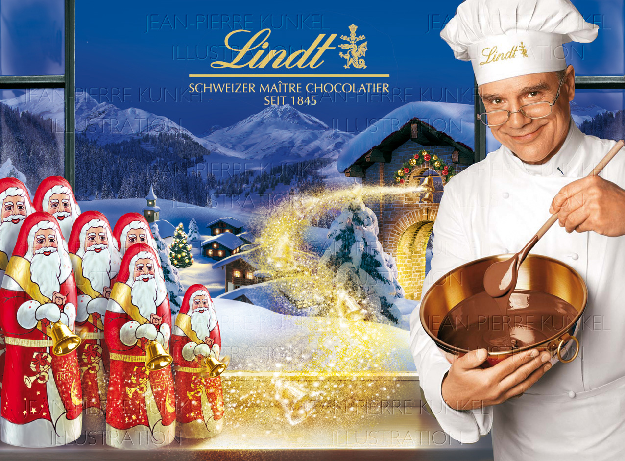 Lindt Display