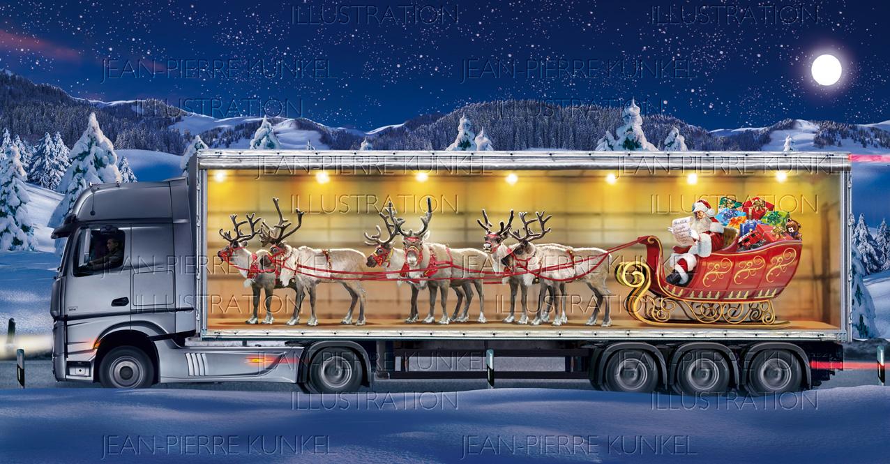 Weihnachts-LKW