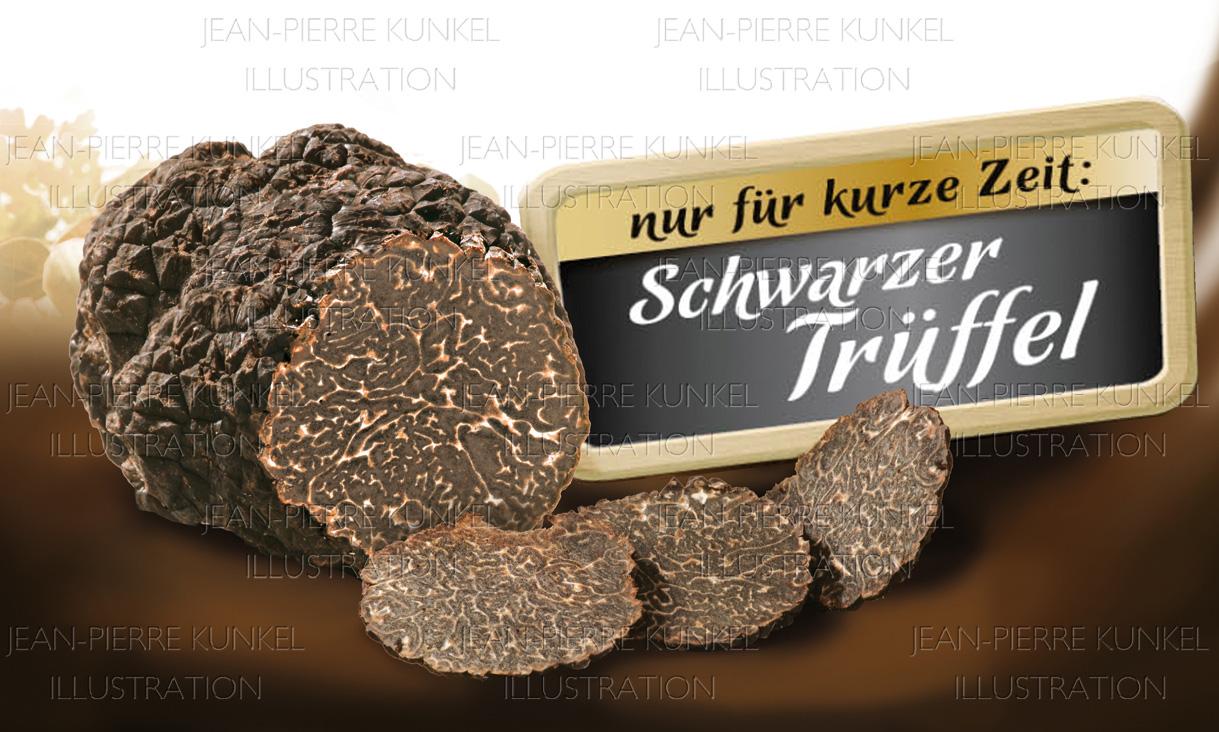 Schwarzer Trüffel