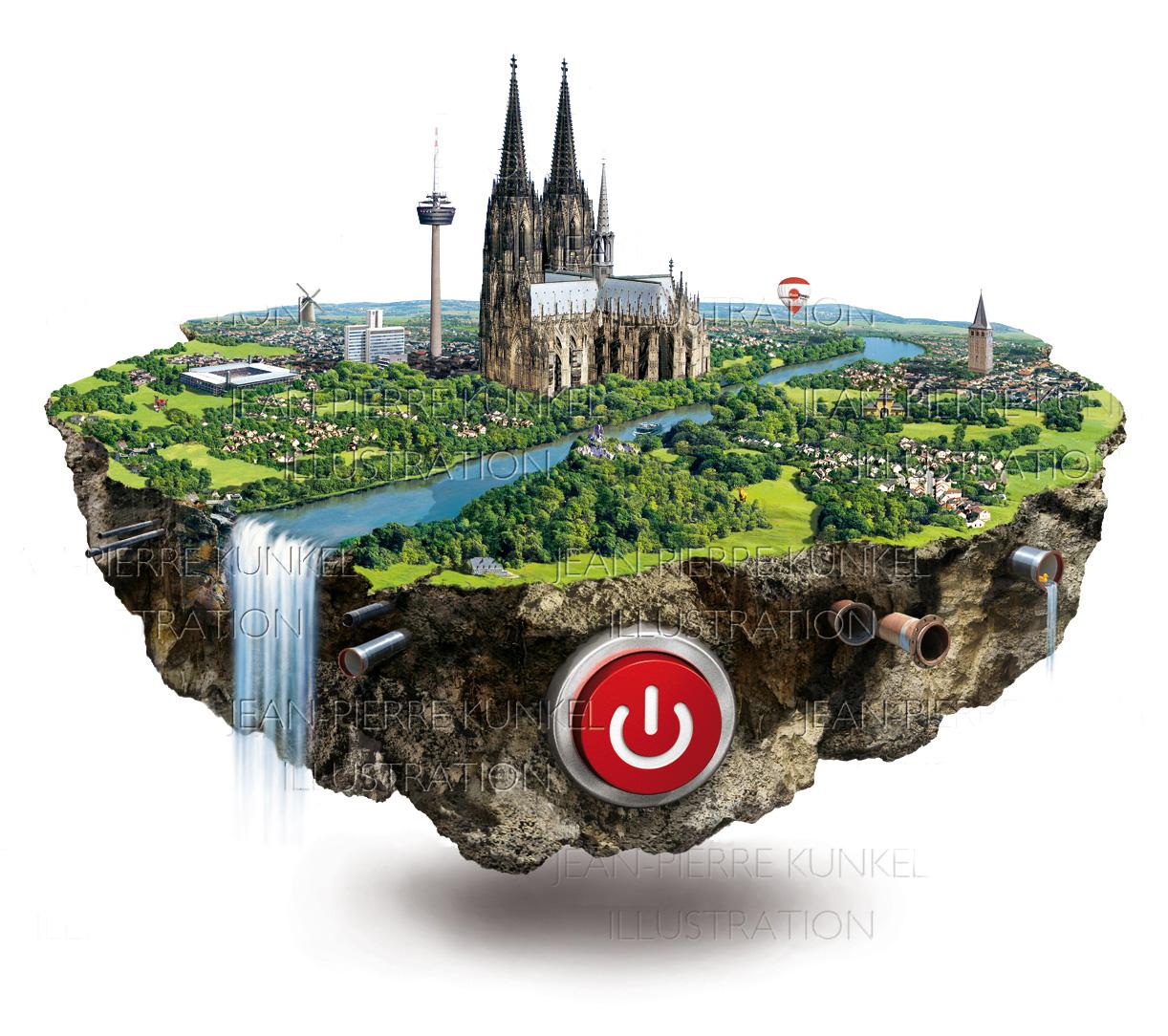 Köln-Insel 1
