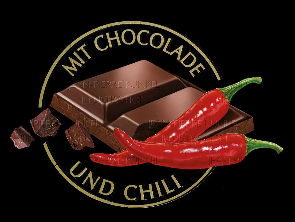 Chili-Schokolade