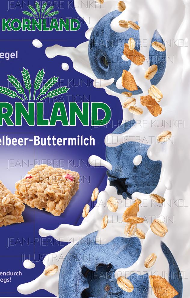 Buttermilch-Splash