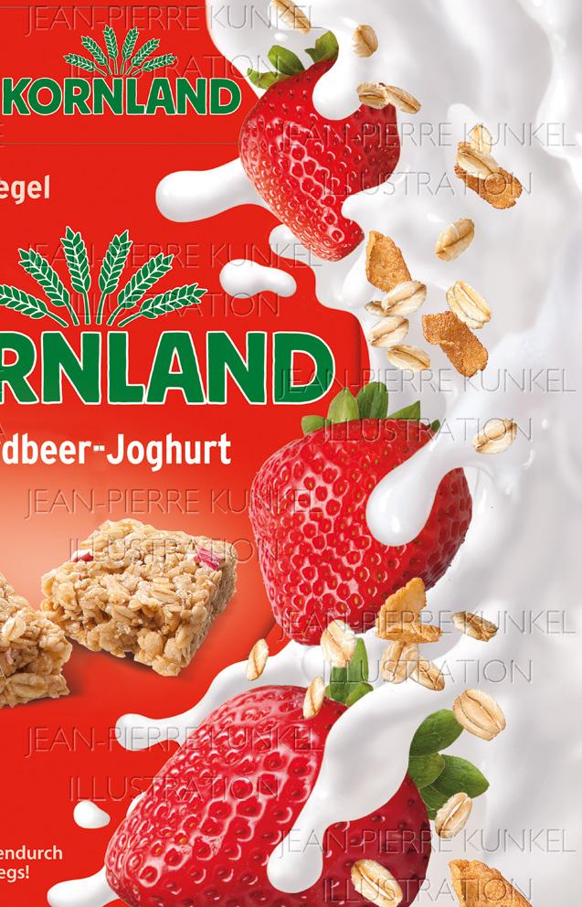 Joghurt-Splash