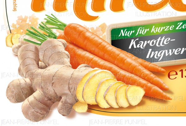 Karotte-Ingwer