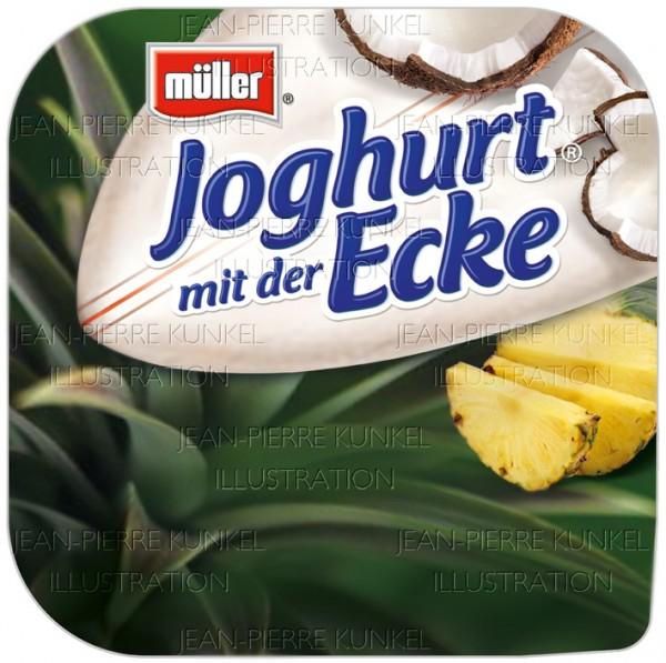Joghurtverpackung