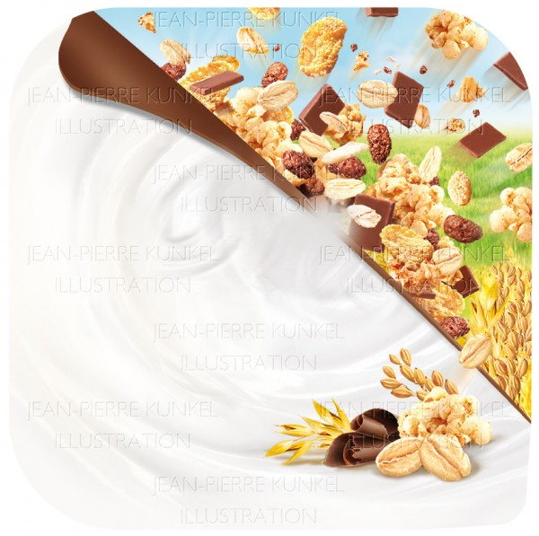Schoko-crunch-Cerealien