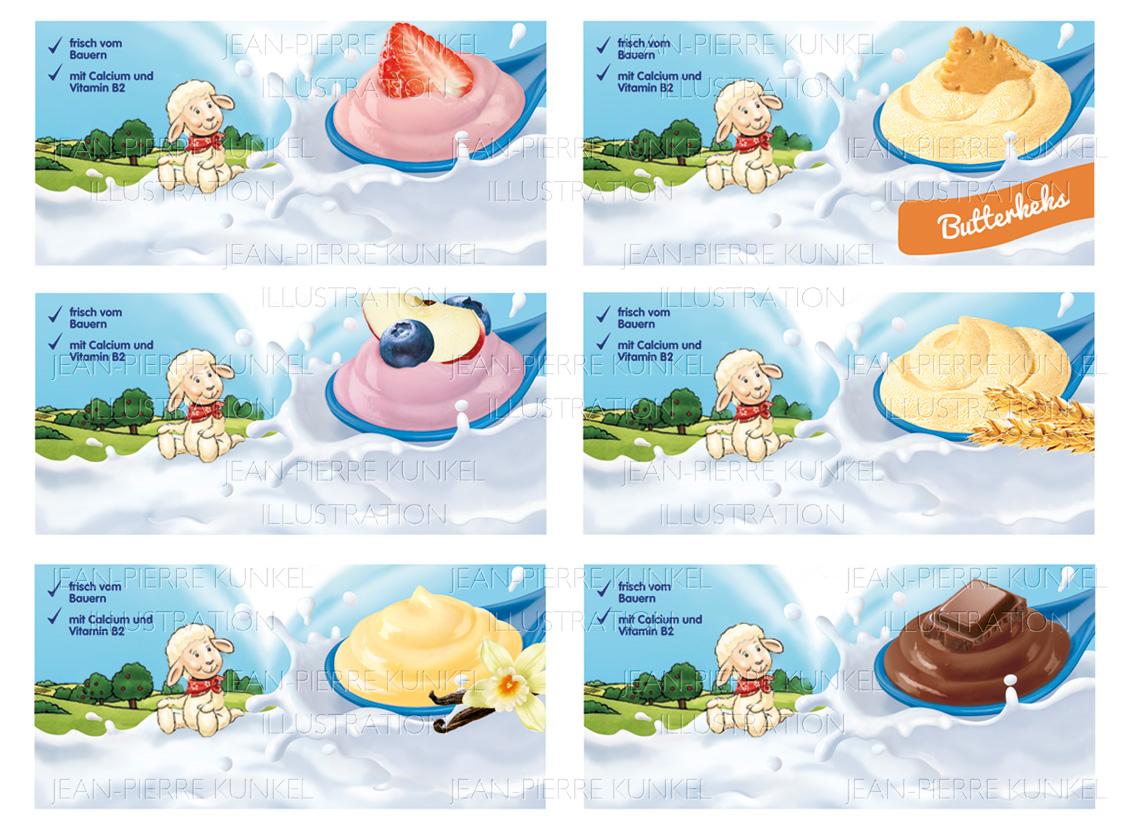 Babynahrung Joghurt