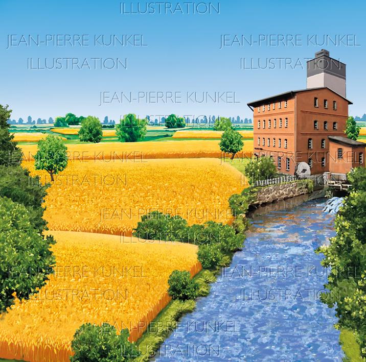Mühlenlandschaft