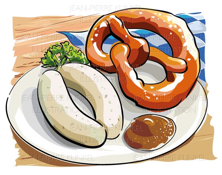 Weißwurst & Brezel