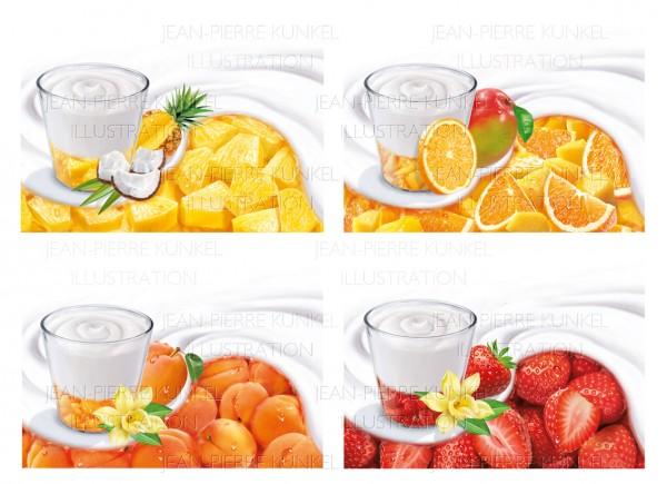 Fruchtjoghurt 2