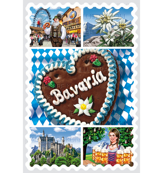 Bavaria Illustration