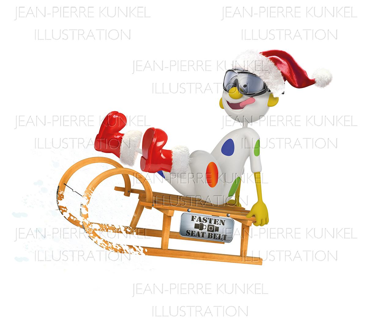 Weihnachtsschlitten | Jean-Pierre Kunkel