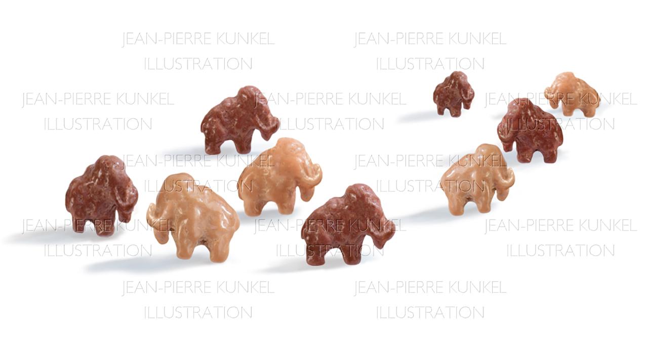 Cerealien-Mammuts