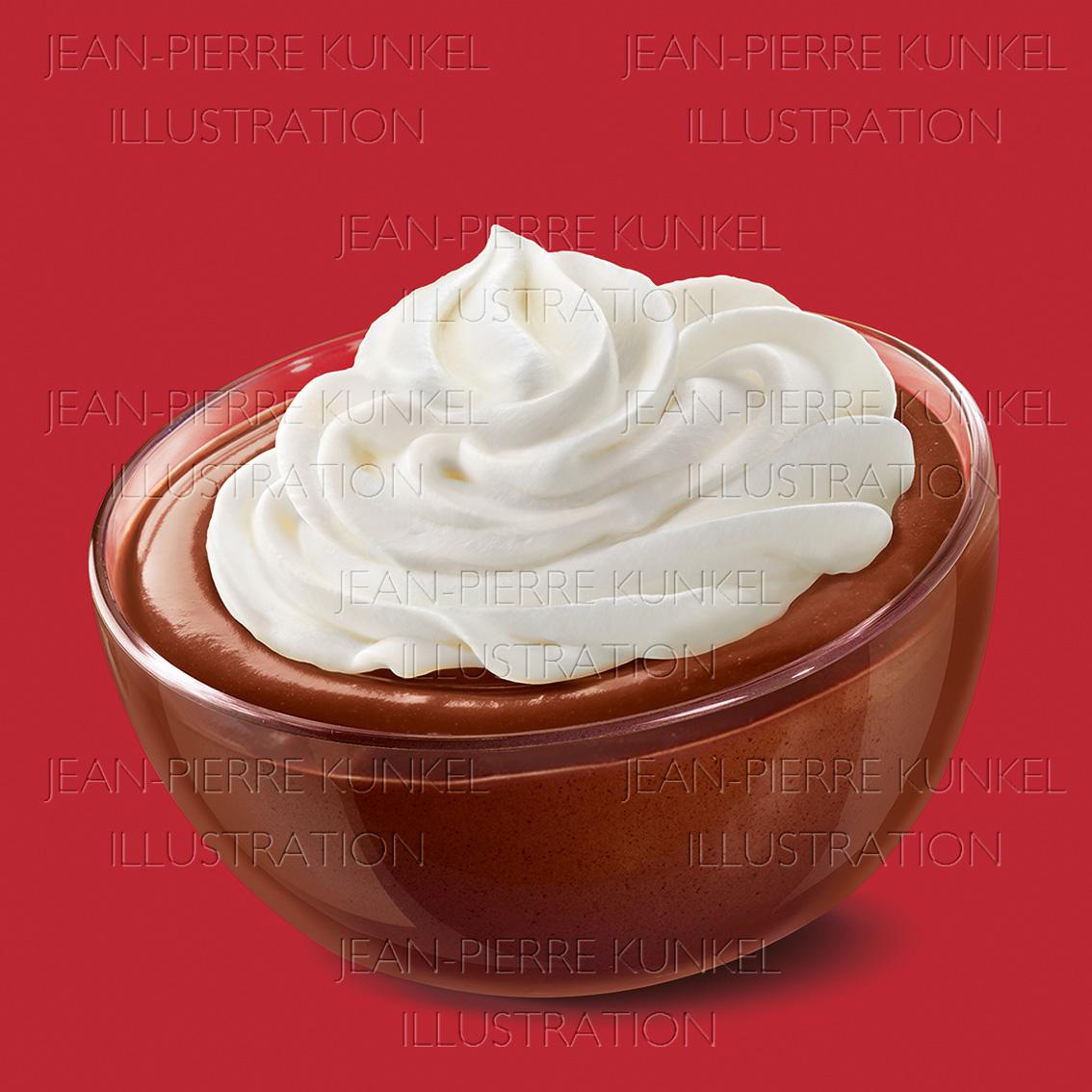 Schoko-Sahne-Pudding