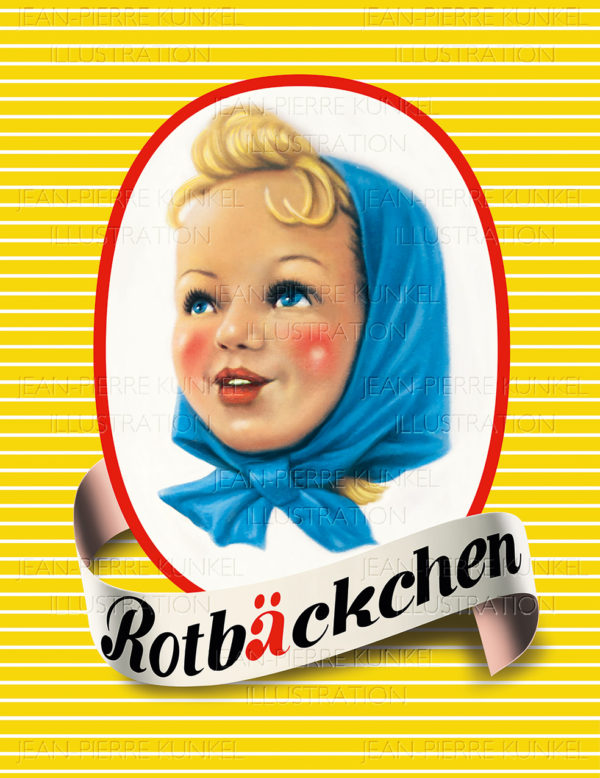 Rotbäckchen Illustration