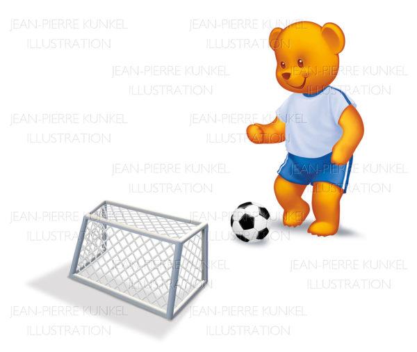 Fußballbär