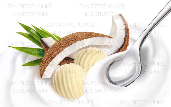 Kokos Weiße Schokolade