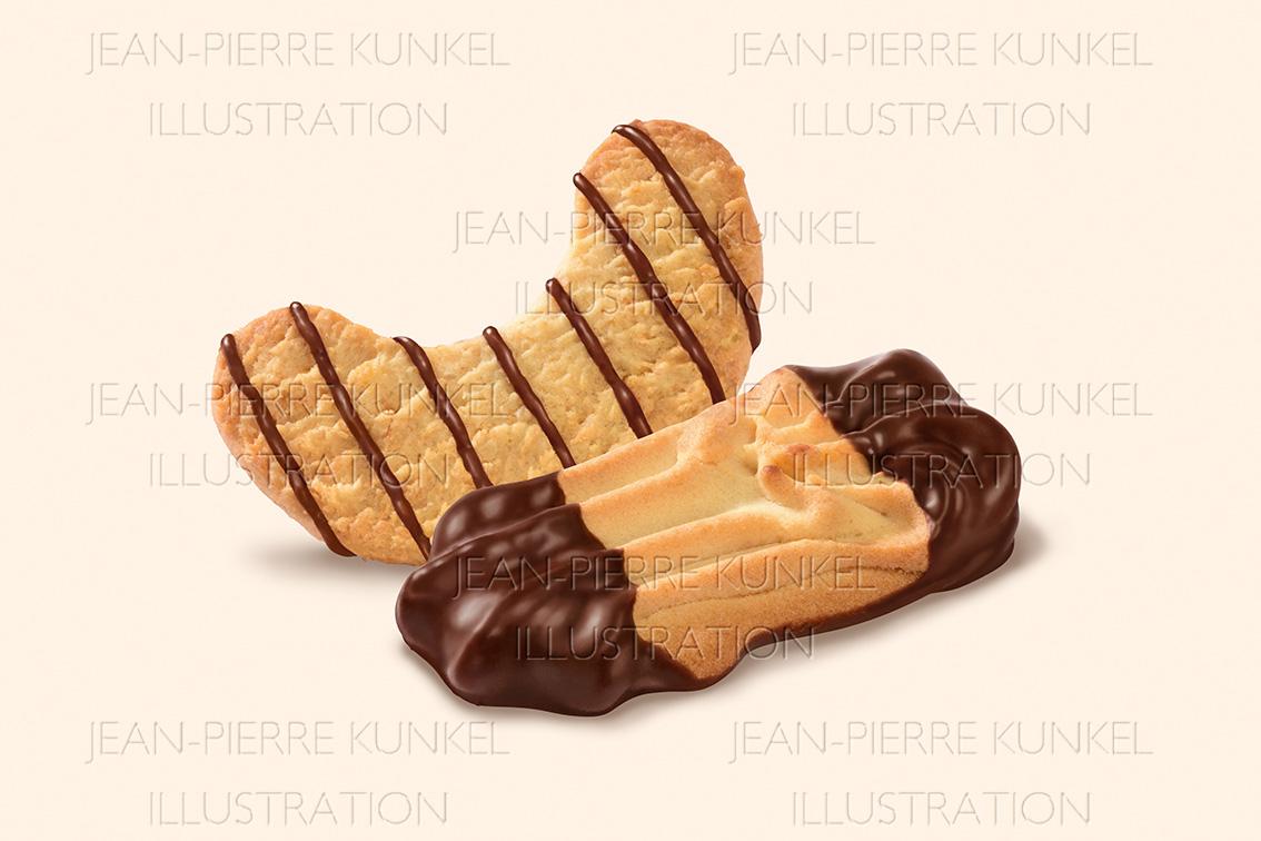 Kekse mit Schokolade 2