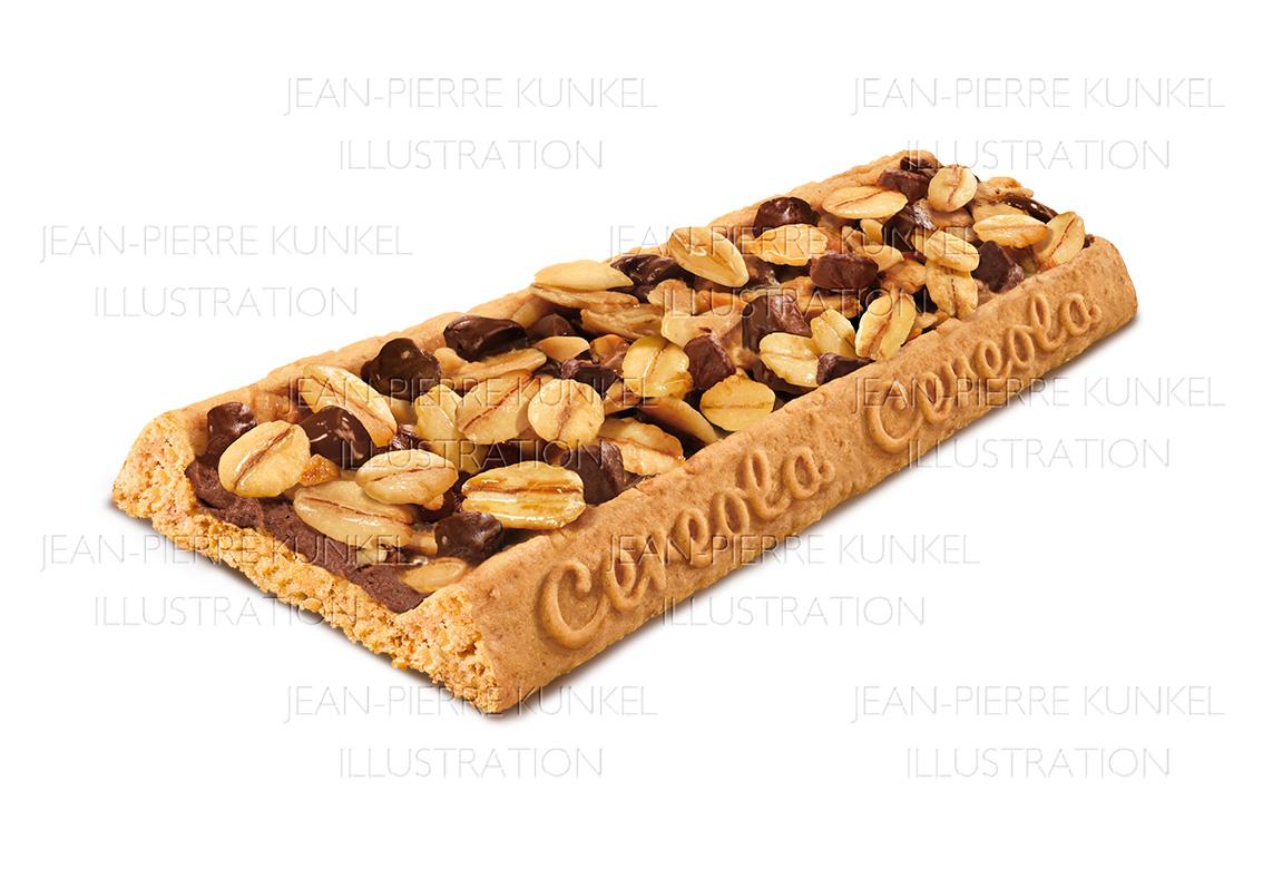 Keksriegel Schokolade