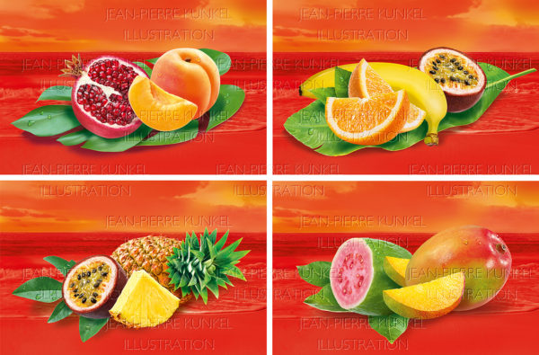 Fruchtarrangements