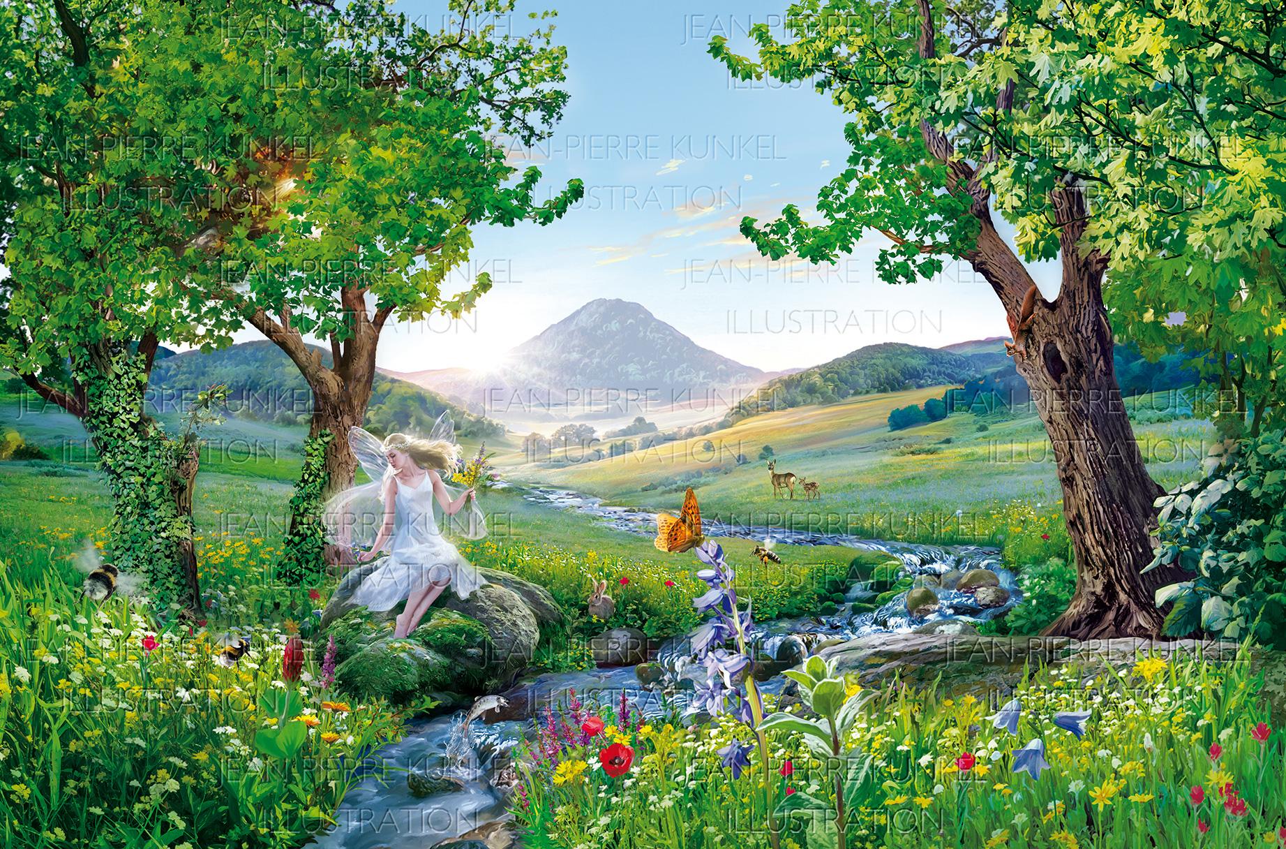 Fantasielandschaft
